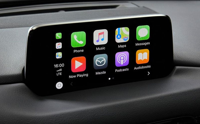 Mazda Introduces Apple CarPlay and Android Auto